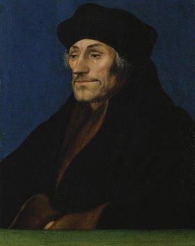 Hans Holbein d.J.: Bildnis des Erasmus von Rotterd