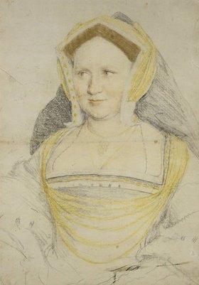 Hans Holbein d.J.: Lady Guildford, Bildnis