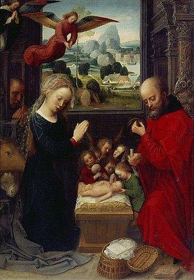 Adriaen Isenbrant: Die Geburt Christi