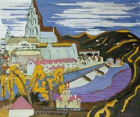 Ernst Ludwig Kirchner: Bern mit Münster