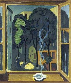 Ernst Ludwig Kirchner: Hof mit Sonnenstrahlen