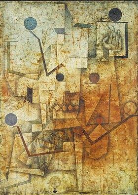 Paul Klee: Der Teufel jongliert