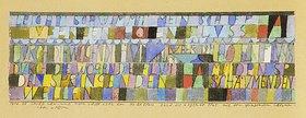 Paul Klee: Leicht schwimmt mein Schiff über den hohen Fluss