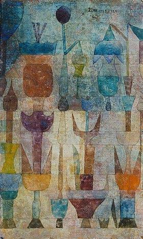 Paul Klee: Pflanzen früh am Morgen