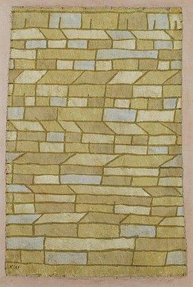 Paul Klee: Barackensiedlung. 1932. Ein Blatt aus dem Städtebuch