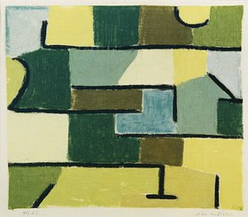 Paul Klee: Grün im Grün. 1937 S