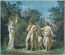Joseph Anton Koch: Herkules am Scheideweg