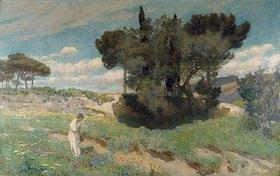 Hans Lendorff: Italienische Gebirgslandschaft