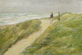 Max Liebermann: Am Strand von Katwijk