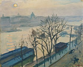 Albert Marquet: Untergehende Sonne über Paris
