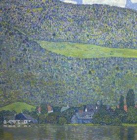 Gustav Klimt: Am Attersee. 1915