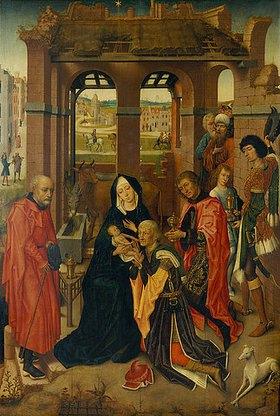 Meister der Katharinen-Legende: Die Anbetung der Könige