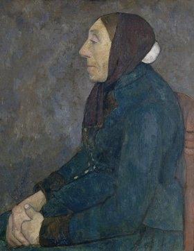 Paula Modersohn-Becker: Sitzende alte Bäuerin