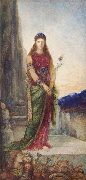 Gustave Moreau: Helena vor den Mauern Trojas