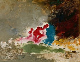 Gustave Moreau: Abstrakte Ölstudie