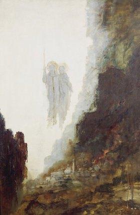 Gustave Moreau: Die Engel von Sodom (Detail)