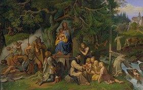 Joseph Ritter von Führich: Einführung des Christentums in den deutschen Urwäldern