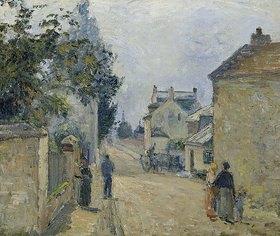 Camille Pissarro: Strasse in der Eremitage, Pontoise