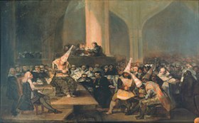 Francisco José de Goya: Sitzung des Inquisitionsgerichtes