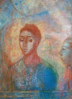Odilon Redon: Bildnis der Madame Redon et Ari