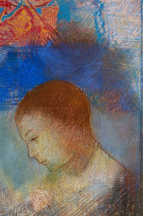 Odilon Redon: Bildnis von Ari