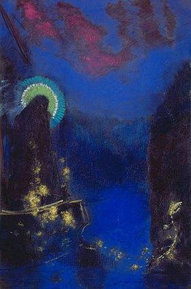 Odilon Redon: Die hl. Jungfrau mit dem Heiligenschein