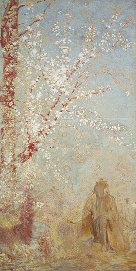 Odilon Redon: Der rote Baum