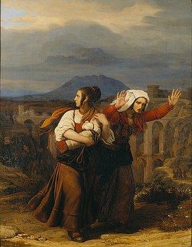 Louis Leopold Robert: Römische Bäuerinnen auf der Flucht