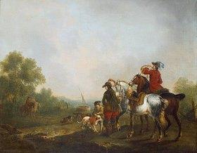 Johann Jakob Schalch: Jagdgesellschaft