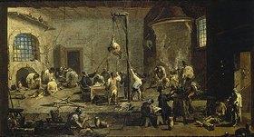 Alessandro Magnasco: Gerichtsszene (Inquisition)