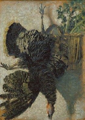 Giovanni Segantini: Der hängende Truthahn