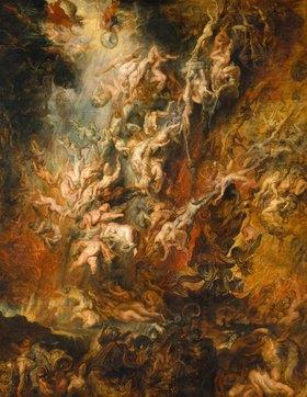 Peter Paul Rubens: Der Höllensturz der Verdammten