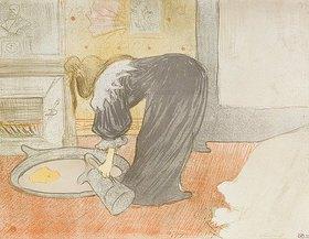 Henri de Toulouse-Lautrec: Frau an der Wasch-Schüssel