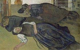 Edouard Vallet: Schlafende Frauen