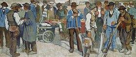 Edouard Vallet: Markt in Genf