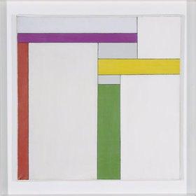 Georges Vantongerloo: L² = S Violet, Jaune, Vert, Rouge