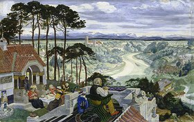 Albert Welti: Deutsche Landschaft