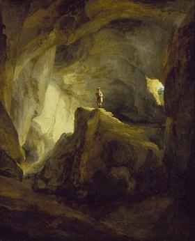 Kaspar Wolf: Das Innere der Bärenhöhle bei Welschenrohr