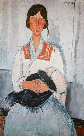 Amadeo Modigliani: Zigeunerfrau mit Kind