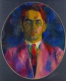 Antonio Augusto Giacometti: Bildnis Joseph Gantner