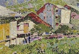 Antonio Augusto Giacometti: Geburtshaus in Stampa