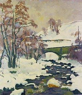 Giovanni Giacometti: Winter in Stampa