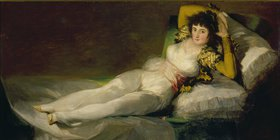 Francisco José de Goya: Die bekleidete Maj