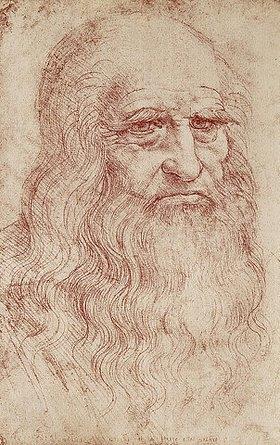 Leonardo da Vinci: Selbstportrait