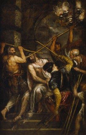 Tizian (Tiziano Vecellio): Dornenkrönung Christi
