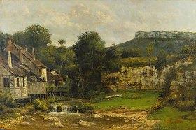 Cherubino Pata: Mühle an der Loue