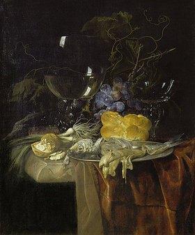 Willem van Aelst: Das Frühstück