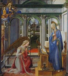 Fra Filippo Lippi: Verkündigung Mariae. Gegen