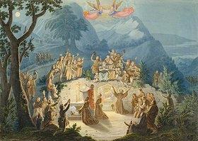 Ludwig Emil Grimm: Die Krippenfeier des hl.Franziskus