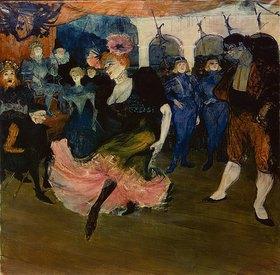 Henri de Toulouse-Lautrec: Marcelle Lender tanzt den Bolero aus Chilpéric